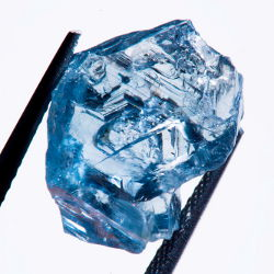 Petra 25 5 Blue Diamond Rough 25.5 carat Rare Blue Diamond found by Petra Diamonds