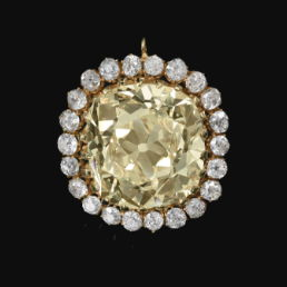 Fancy Yellow Diamond Jewel 19th Century Sothebys Yellow Diamonds Sold, Found and Broke Records