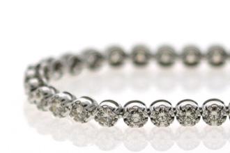 WHOLESALE JDL SAPPHIRE DIAMOND TENNIS BRACELET | EBAY